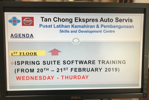iSpring Suite Training to Tan Chong Group