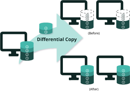 Differential Copy